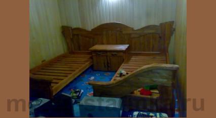 Кровать под старину №-12