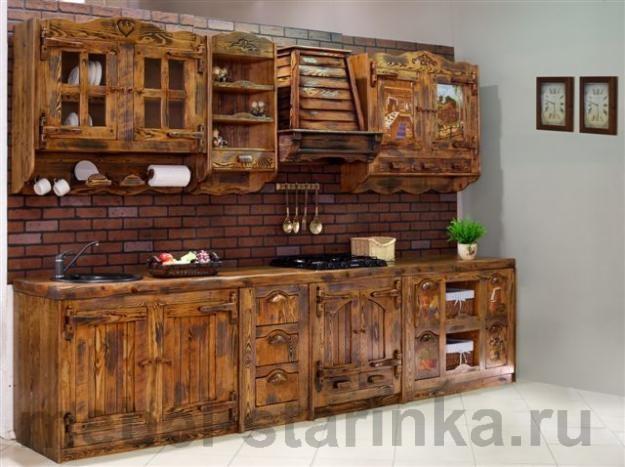 Мебель из дерева для кухни своими руками