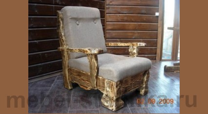 "Кресло под старину ""Леший"""