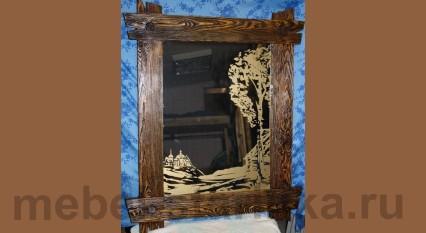 Зеркало под старину №-3