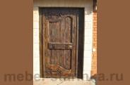 """Дверь под старину №-10 """"Грация"""""""