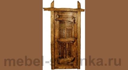 """Дверь под старину №-11 """"Изюминка"""""""