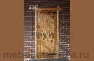"""Дверь под старину №-9 """"Гладиатор"""""""