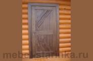 """Дверь под старину """"Кубань"""""""