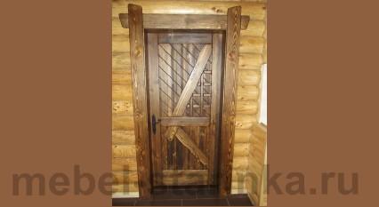 """Дверь под старину """"Лозанна"""""""