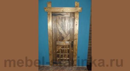 """Дверь под старину №-23 """"Форпост"""""""