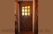 """Дверь под старину №-6 """"Заря"""""""