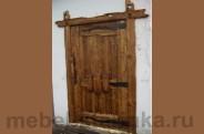 """Дверь под старину №-29 """"Мудрец"""""""