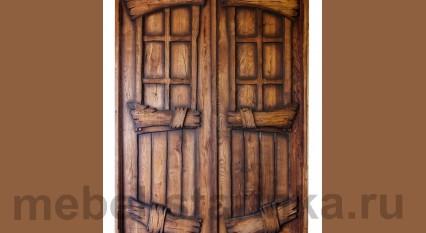 """Дверь под старину """"Парадная"""""""
