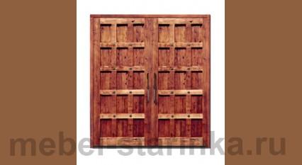 """Дверь под старину """"Врата"""""""