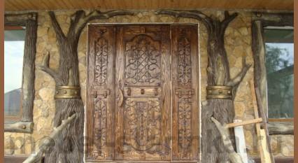 """Дверь под старину """"Гибралтар"""""""