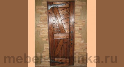 """Дверь под старину №-13 """"Кантри"""""""
