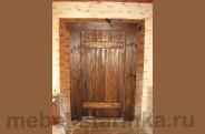 """Дверь под старину №-4 """"Глухарь"""""""