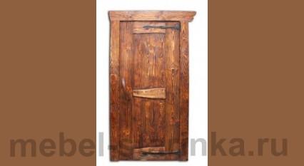 """Дверь под старину №-28 """"Очаг"""""""