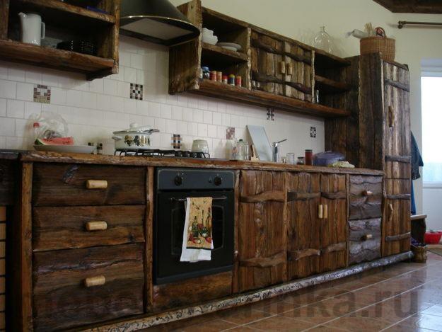 Своими руками кухня из дерева