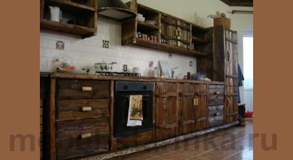 """Кухня под старину """"Мальвина"""""""