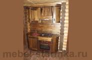 Кухня под старину 'Дюймовочка'