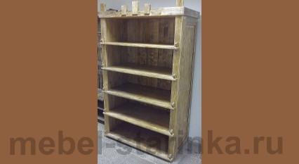 """Шкаф под старину """"Книжный"""" №-3"""