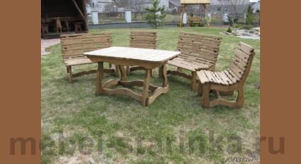 """Комплект стол и стулья """"Пикник 2"""""""