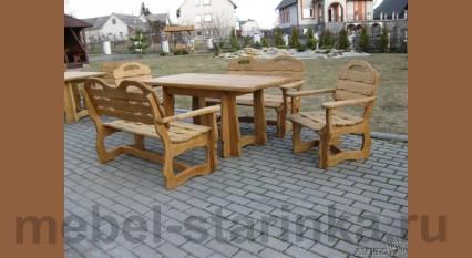 """Комплект стол и стулья """"Пикник 3"""""""