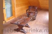"""Комплект стол и стул-качалка """"Досуг"""""""