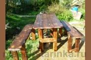 Стол под старину 'Лесной'