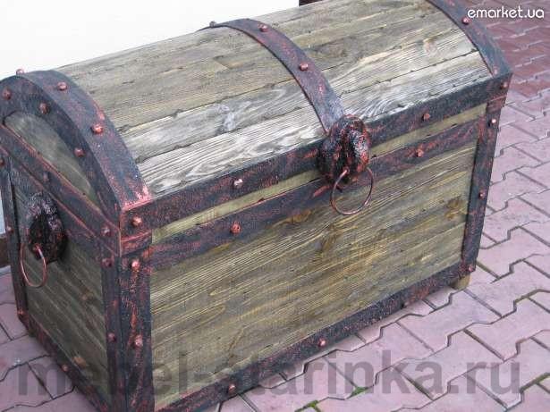 Сундук деревянный своими руками