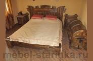 Кровать под старину №-5