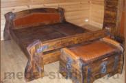 Кровать под старину №-8