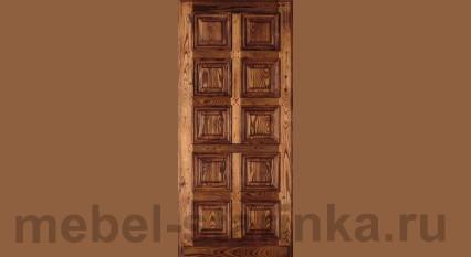"""Дверь под старину №-30 """"Шоколадка"""""""