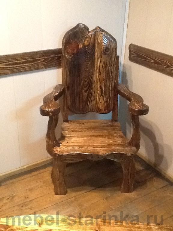 """Кресло под старину """"Старое село"""""""