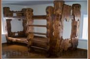 Кровать под старину (двухъярусная) №-15